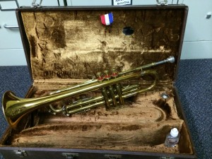 kurtz trumpet and case