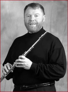 Flutist Tom Meany